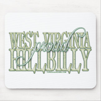 Proud West Virginia Hillbilly Mouse Pad