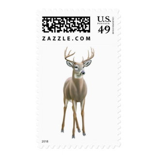 Proud Whitetail Buck Postage