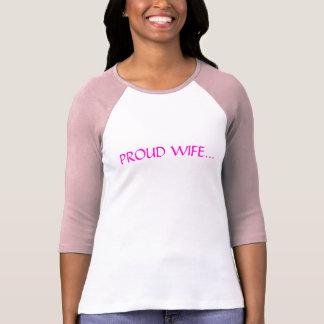 Proud wife of a ballroom dancer! t shirt