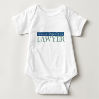 Proud Wife Of A Lawyer Baby Bodysuit