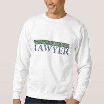 Proud Wife Of A Lawyer (Green) Sweatshirt