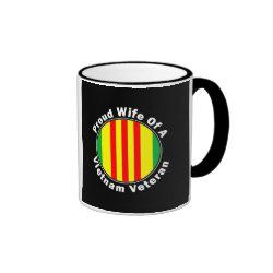 Proud Wife of A Vietnam Veteran Coffee Coffee Mug Cup