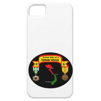 """""""Proud Wife of a Vietnam Veteran""""  IPhone 5 Case"""