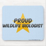 Proud Wildlife Biologist Mouse Pad