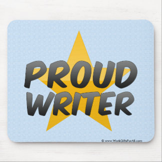 Proud Writer Mouse Pad