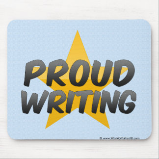 Proud Writing Mouse Pad