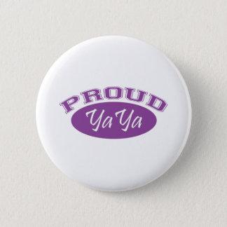 Proud YaYa (Purple) Pinback Button