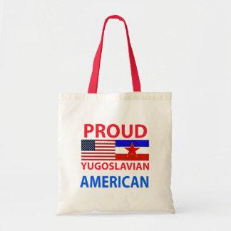 Proud Yugoslavian American Tote Bag