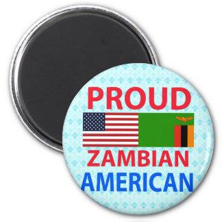 Proud Zambian American Magnet