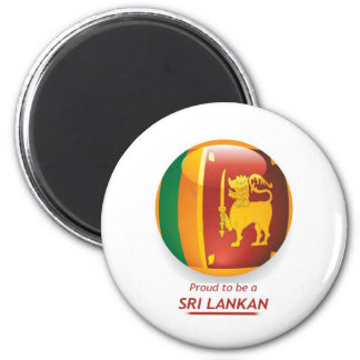 proude to be sri lankan. magnet