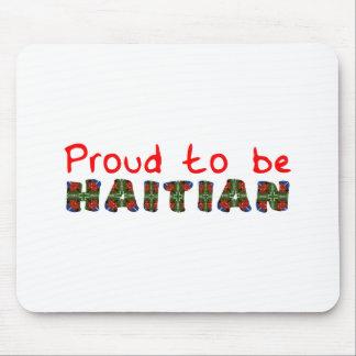 proudhaitian01r mouse pad