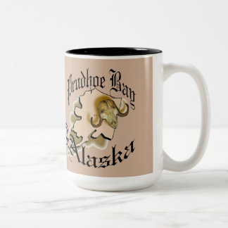 Proudhon bay Alaska Two-Tone Coffee Mug
