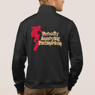 Proudly annoying pedestrians printed jackets