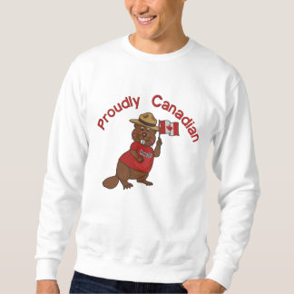 Proudly Canadian Beaver Sweatshirt