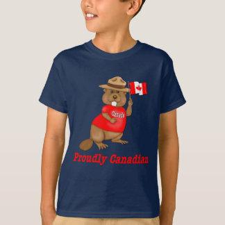 Proudly Canadian Beaver T-Shirt