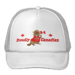Proudly Canadian Beaver Trucker Hats
