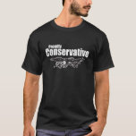 Proudly Conservative with Eagle T-Shirt