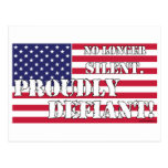 Proudly Defiant 1 Post Cards