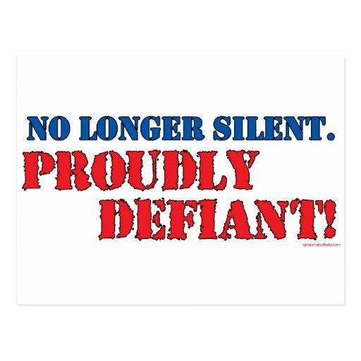 Proudly Defiant 2 Postcard