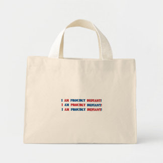 Proudly Defiant 3 Tote Bags