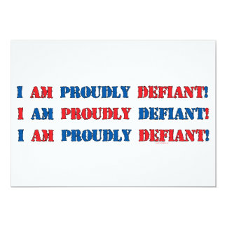 Proudly Defiant 3 Card