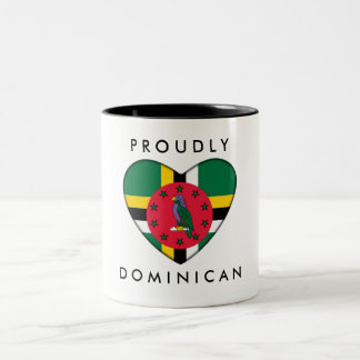 Proudly Dominican Mug - Heart
