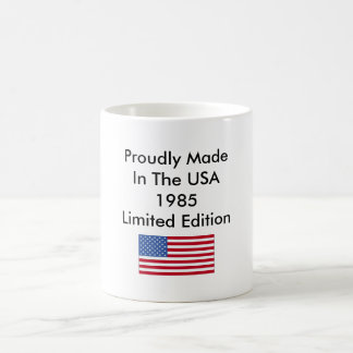 Proudly Made In The USA 1985 Limited Edition Coffee Mug