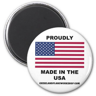 Proudly Made In The USA 2 Inch Round Magnet