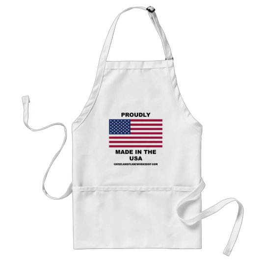 Proudly Made In The USA Adult Apron