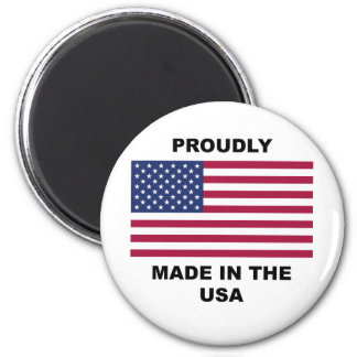 Proudly Made In The USA Magnet