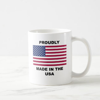 Proudly Made In The USA Mugs