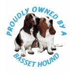 Proudly Owned By A Basset Hound Tshirt