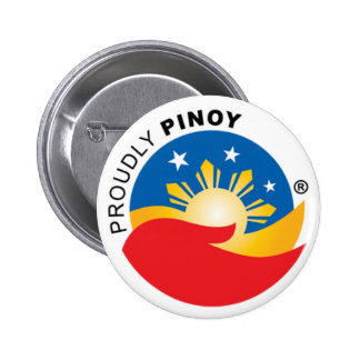 Proudly Pinoy Official Badge Button