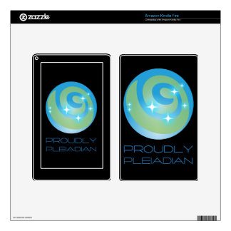 Proudly Pleiadian Kindle Fire Decals