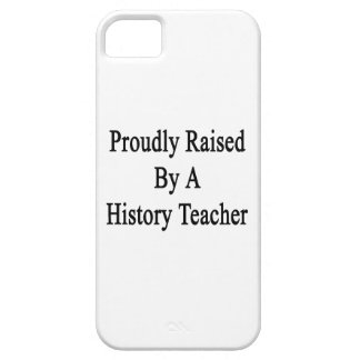 Proudly Raised By A History Teacher iPhone SE/5/5s Case