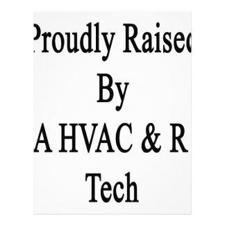 Proudly Raised By A HVAC R Tech Letterhead