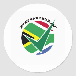 Proudly South African Sticker