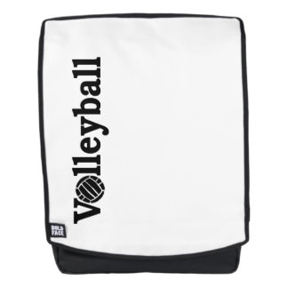 Proudly support volleyball player men women ns backpack