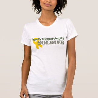 Proudly Supporting My Soldier Tee Shirts