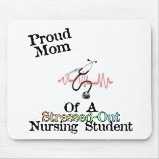 ProudMom de un estudiante del oficio de enfermera Alfombrilla De Raton