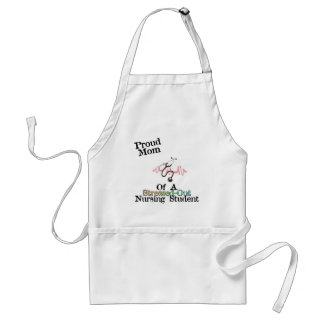 ProudMom of a Nursing Student Adult Apron