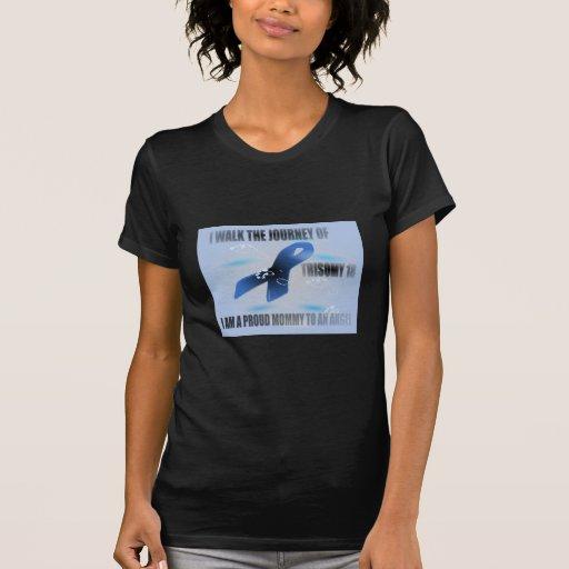 PROUDMOMTOANANGELJOURNEYT18BLUE.png T-shirts