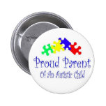 ProudParentPuzzleshirt Pin