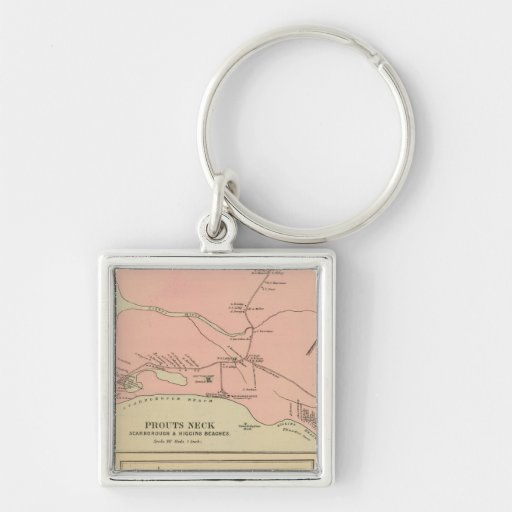 Prouts Neck Scarborough, Higgins beaches Keychain