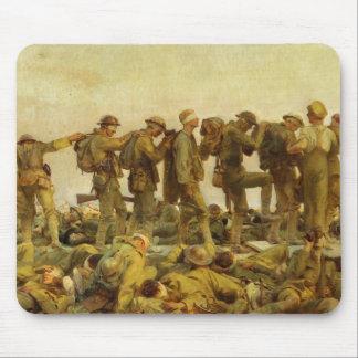 Proveído de gas por la Primera Guerra Mundial de Mouse Pad