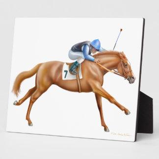 Proven Champion Race Horse Plaque