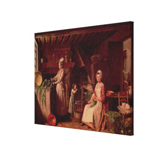 Provencal Kitchen Canvas Print