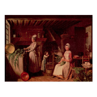 Provencal Kitchen Postcard