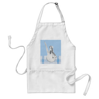 Provencal Olive Oil Can Apron