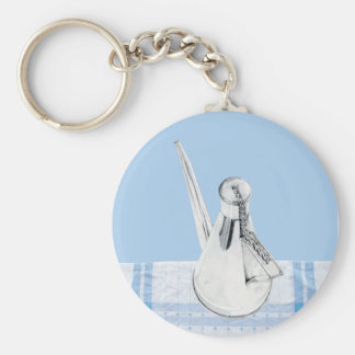 Provencal Olive Oil Can Keychain